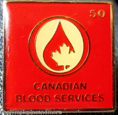 Canadian Blood Service 50 pin