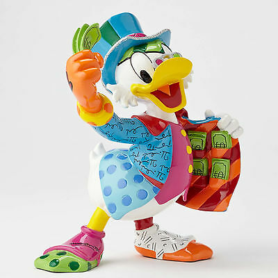 NEW Disney Britto Uncle SCROOGE McDUCK with Money Figurine 4051800