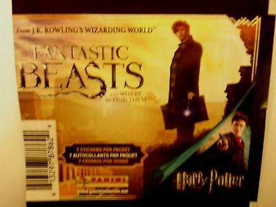 HP- FANTASTIC BEASTS and where to find them -Panini-10 Stickers - $5.00 - U PICK