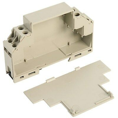 CamdenBoss CMEB DIN Rail / Bulkhead Mounted Module Box With Cover