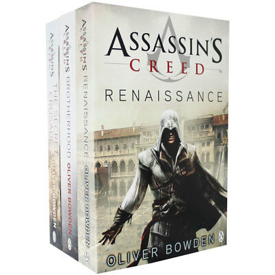Assassins Creed 3 Book Collection (Paperback), Fiction Books, Brand New