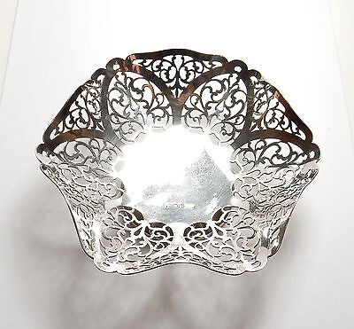 Antique sterling Silver Dish Sheffield 1929 Walker and Hall