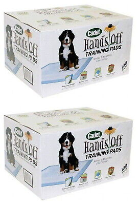Cadet Hands Off Training Pads for Dogs 200ct (2 x 100ct)