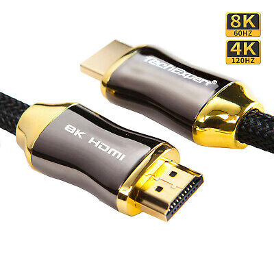 Cable hdmi 2.0 4K 60Hz professionnel ultra HD 2160p 3D Full HD ARC HDR 18GB/Sec.