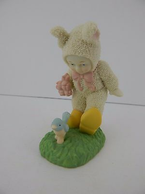 Dept 56 Snowbunnies Walk a Mile in My Shoes #26403 Retired Good Condition