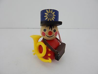 Steinbach Handmade German Wooden Very Old Ornament Nutcracker Mailman