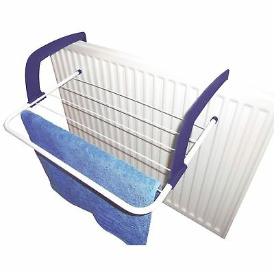 3m Folding Radiator Airer Clothes Dryer Indoor Washing Laundry Horse Rack