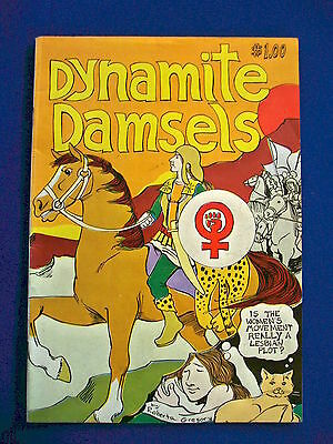 Dynamite Damsels: Roberta Gregory underground comic 1976. 1st print.