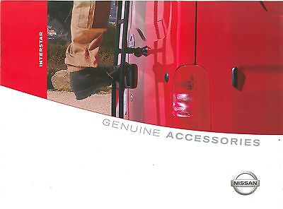 2002/03 Nissan Interstar Accessories Brochure