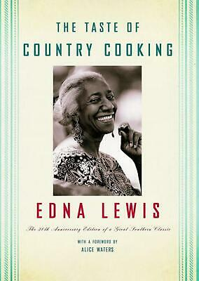 The Taste of Country Cooking by Edna Lewis (English) Hardcover Book