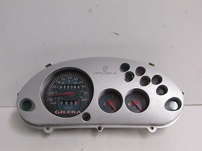 Gilera Runner VXR125 VXR 125 1998 - 2004 Clocks Speedo Assembly 2336 Miles