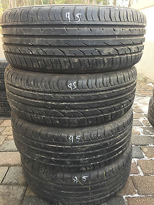 4 Sommerreifen 205/55R16 91V Continental ContiPremiumContact 2   !!7mm!!