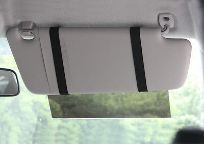 Car Visor Extender - Grey - protects from the glare of the sun