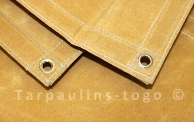 Canvas Tarpaulin Covers Heavy Weight Boat Log Store Roofing Sheets Various sizes