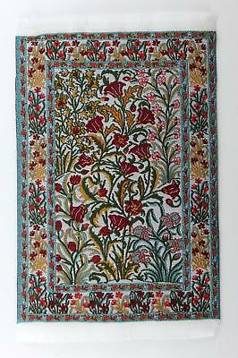 Dolls House Small Turkish Woven Fireside Rug Carpet Miniature 1:12 Accessory ME