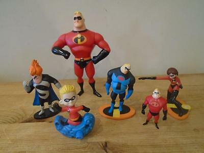 Collection of Mr Incredible Figures