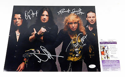 Stryper Signed 11 x 14 Color Photo 4 JSA Autos