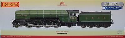 New Empty Hornby R3246Tts Sound Lner Class P2 Cock O The North 2-8-2 Loco Box