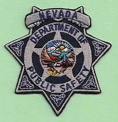J2 * Department Of Public Safety Hp Nevada State Shape Police Swat Patch Fbi
