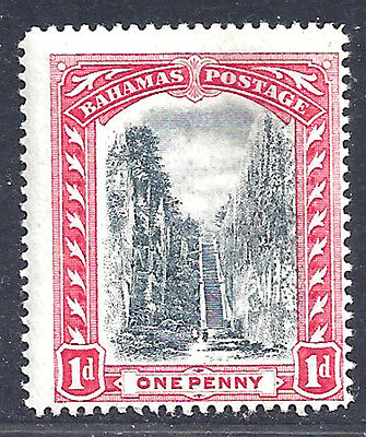 Bahamas stamp 1901 staircase 1d wmk invt'd (SG58w) MNH  ₤170/$215