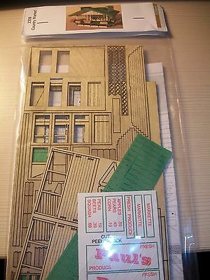 GC Laser S Scale Country Market  Kit #2309  Bob The Train Guy