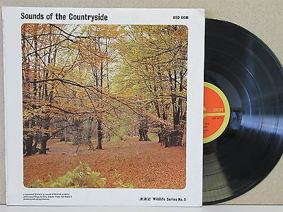 BBC Sounds Of The Countryside- Wildlife Field Recordings LP Birdsong/Eric Simms