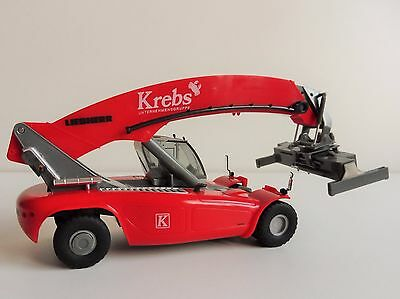 Reachstacker LIEBHERR LRS 645 HERPA 301800 1/87 Reach-Stacker KREBSGRUPPE KREBS