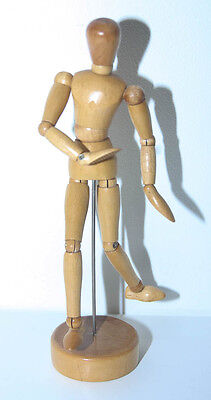 Wooden Lay Figure Artists Mannequin Bendy Moveable Man (4688)