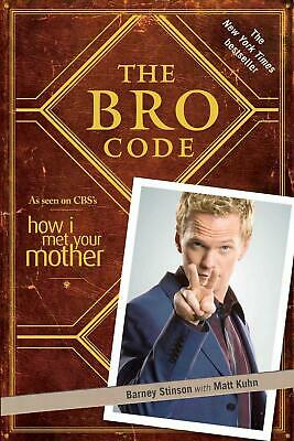 The Bro Code by Neil Patrick Harris (English) Paperback Book Free Shipping!