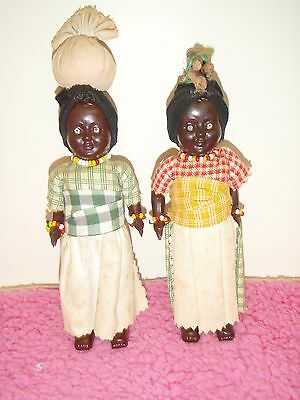 international old black mama style brown dolls