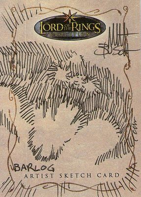 Lord of the Rings Evolution:  Sketch Card by Matt Busch