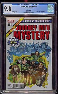 JOURNEY INTO MYSTERY #631 CGC 9.8 MARVEL 50th ANNIV. 1:50 VARIANT  COMIC KINGS
