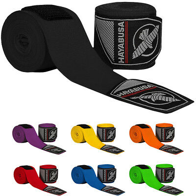 """Hayabusa Perfect Stretch 4 Premium Hook and Loop Mexican-Style Handwraps - 180"""""""