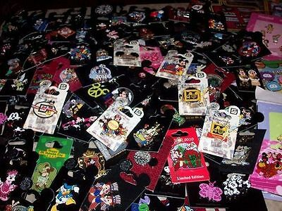 Disney Pins Lot  ALL PINS NEW ON CARDS  Select Your Own Size