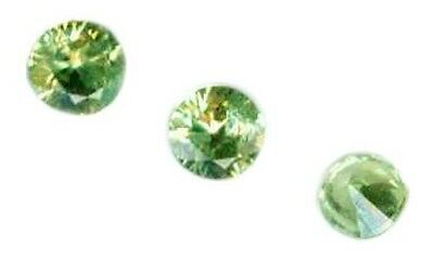 RARE 19thC Antique Demantoid Pomegranate Carbuncle Ancient German Barbarian Gem