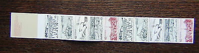Sweden 1973 Tourism in Dalecarlia Booklet MNH