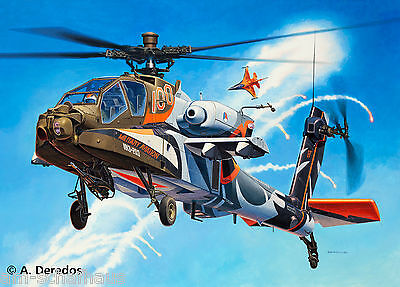 Revell - AH-64D Longbow Apache 100 Years Military Aviation, 04896