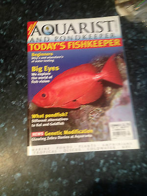 AQUARIST & PONDKEEPER -  - September 2001,suggestions on discus fry