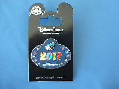 SORCERER NAME TAG  Disney Pin 2017 CAST MEMBER exclusive  New on Card