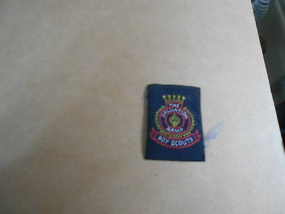 (Rf2-R) Salvation Army Scouts Canadian National 3B Unused  Canadian Scout Badges
