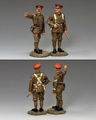 KING AND COUNTRY Military Policemen British WW1 FW198