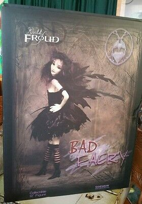 Sideshow World of Froud Bad Faery Fairy 12in Collectible statue 2005