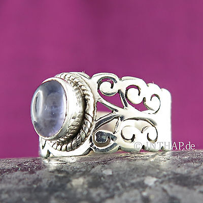 Ring 925 Sterling Silber - Silberring mit Iolith - Damenring Fingerring |In10-12