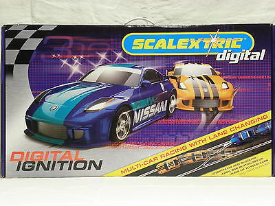 Scalextric C 1186 Digital-Bahn Komplettset Digital Ignition mit 2 Slot Cars