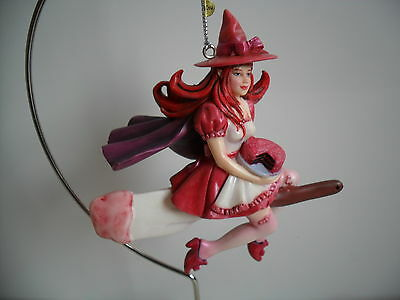 Dragonsite  Kitchen Witch Frosted Fantasia By Brigid Ashwood Boxed Retired