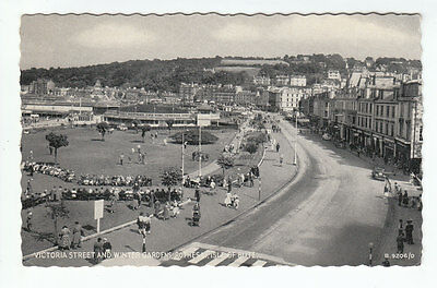 Victoria Street And Winter Gardens Rothesay Isle Of Bute 1954 Valentines B9206