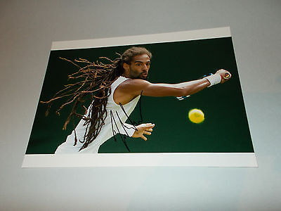 Dustin Brown Tennis signiert autograph signed Autogramm auf 20x28 Foto in person