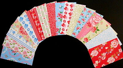 "*ROSE GARDEN* Beautiful Papers x 16- 15cm x10cm (6 x 4"") Scrapbooking/Cardmaking"