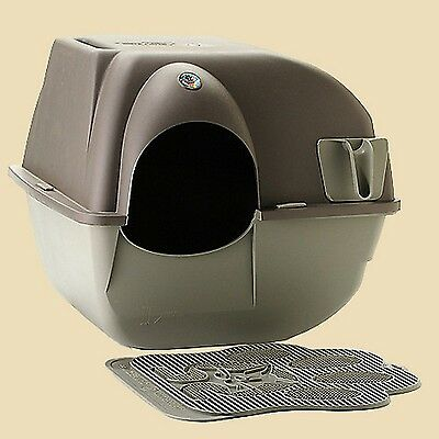 Omega Paw Roll'n Clean Self-Cleaning Cat Litter Box NEW