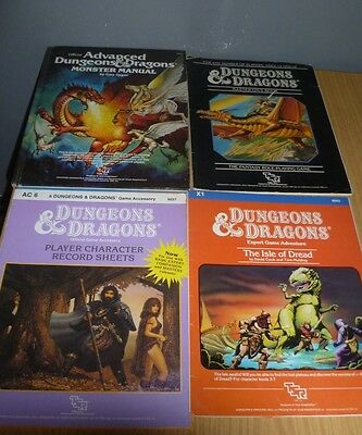 Advanced Dungeons & Dragons/monster Manual/player Sheets/master Dm/isle Of Dread